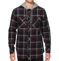 Front Open Hooded Plaid Shirts Manufacturer