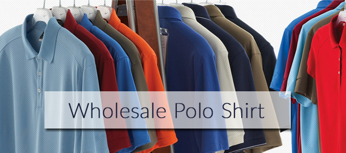 Slim Fit Polo Shirts Wholesale