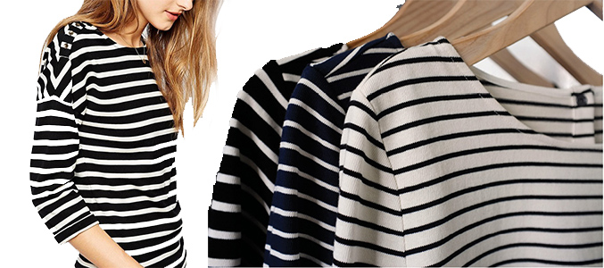 Wholesale Striped T Shirts Manufacturer