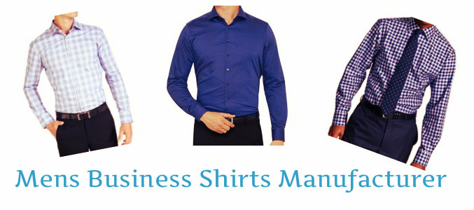 Mens Business Shirts Manufacturer