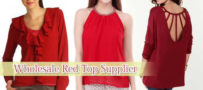 wholesale red top supplier
