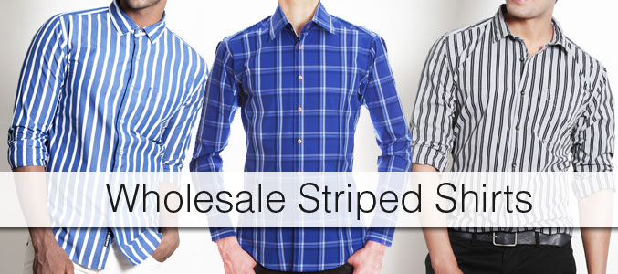 Striped Shirt Wholesale