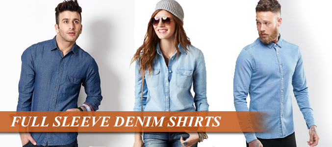 wholesale denim shirt