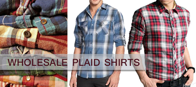 wholesale plaid flannel shirts
