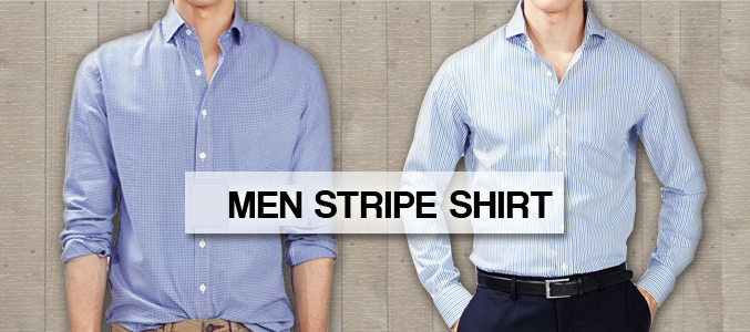 Men Striped Shirt