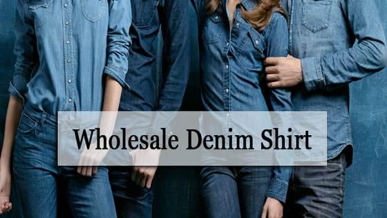 wholesale denim shirt