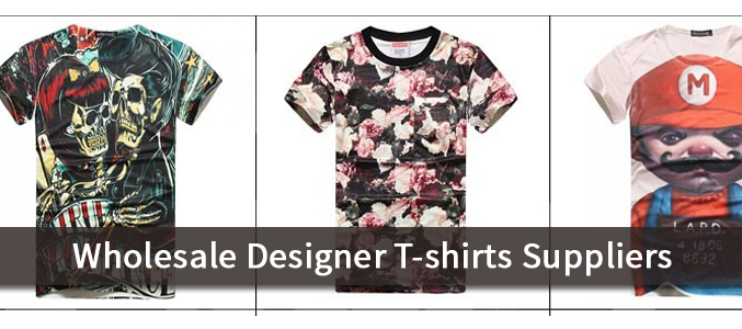 Wholesale Designer T Shirts Suppliers