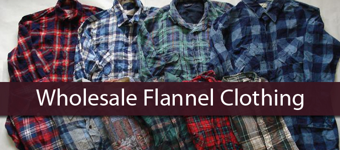 Wholesale Flannel Clothing Manufacturer