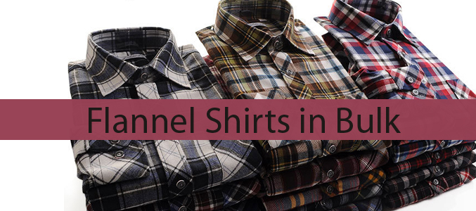Flannel Shirts in Bulk