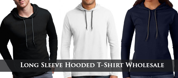 Hooded T-Shirts Wholesale Supplier