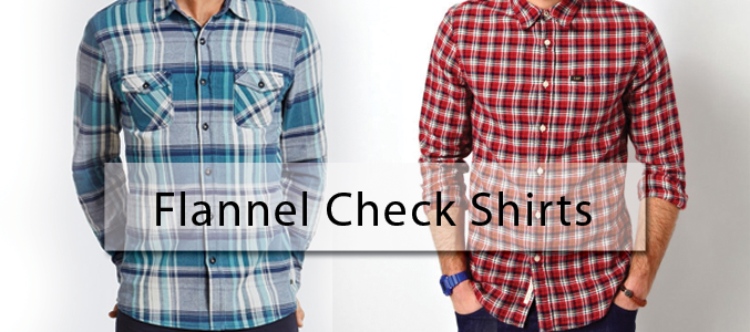 Flannel Shirts - Fall and Winter Wardrobe Staple