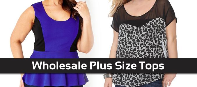 Wholesale-Plus-Size-Tops