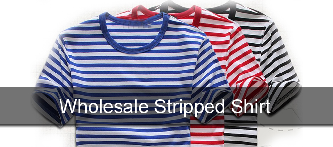 Wholesale Striped Polo Shirts Manufacturer