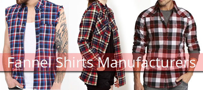 Funky Flannel Shirts Supplier