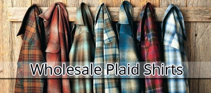 Wholesale Plaid Shirts Manufacturer
