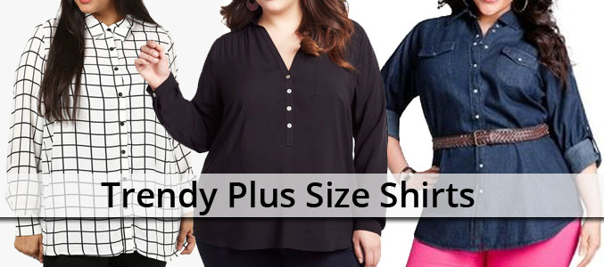 How to Glam up Your Week with Simple Yet Trendy Plus Size Shirts
