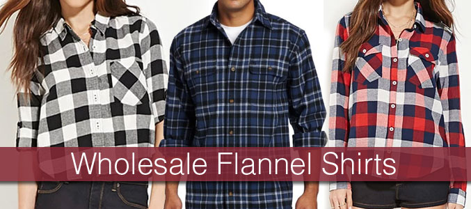 Wholesale Flannel Shirts Manufacturer