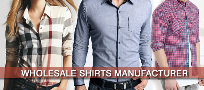 Wholesale Shirt Suppliers