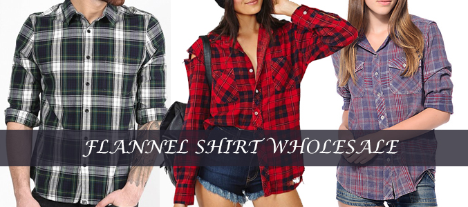 Clothing and Accessories to Look Best With Sizzling Flannel Shirts Crafted By Wholesalers