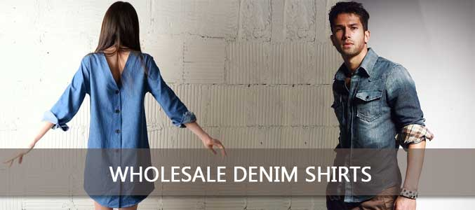 Wholesale Denim Shirts Supplier