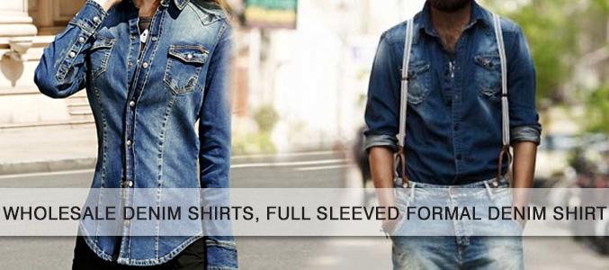 Wholesale Denim Shirts Supplier