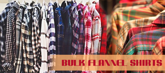 Bulk Flannel Shirts Manufacturer