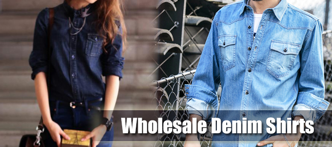 The Quintessential Style Etiquettes for Men to Wear Wholesale Denim Shirts