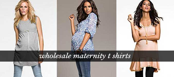Wholesale Maternity T Shirts Supplier
