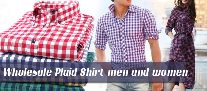 Wholesale Plaid Shirts Supplier