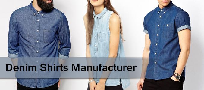 Denim Shirts Supplier