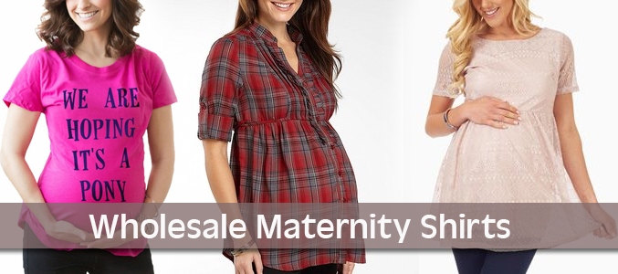 wholesale maternity shirts manufacturer