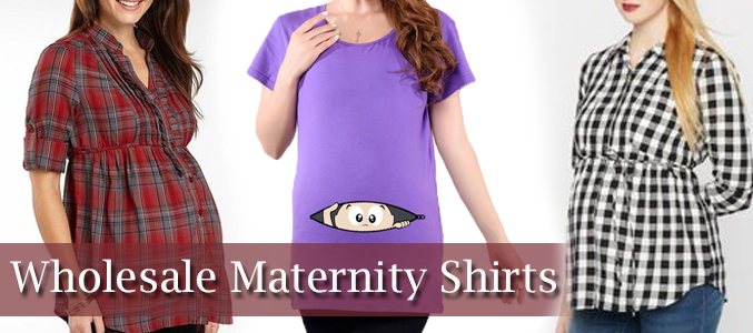wholesale maternity t shirts