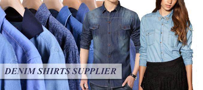 denim shirt wholesale