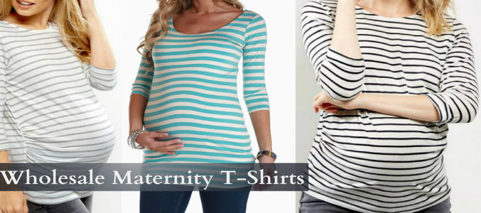 wholesale maternity t shirt manufacturer