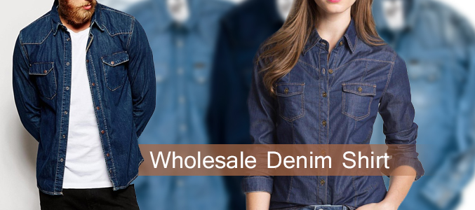 Denim Shirts Wholesale Manufacturer