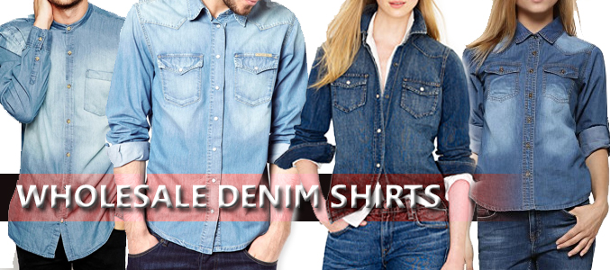 Men Can Swoon Over The Wholesale Denim Shirts in Different Stylish Ways