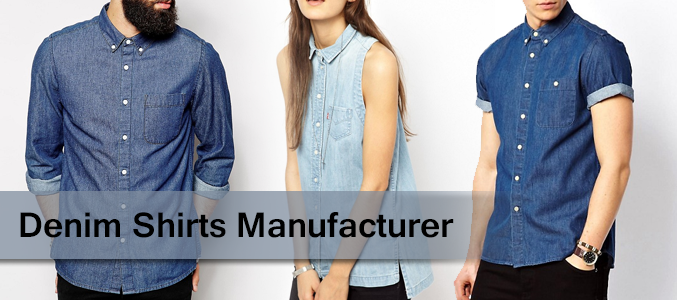 Wholesale Denim Shirts