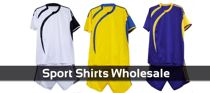 Bulk Sports Shirts Manufacturer