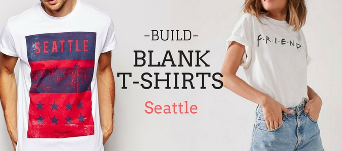 Go Creative With Wholesale Blank T-Shirts Seattle