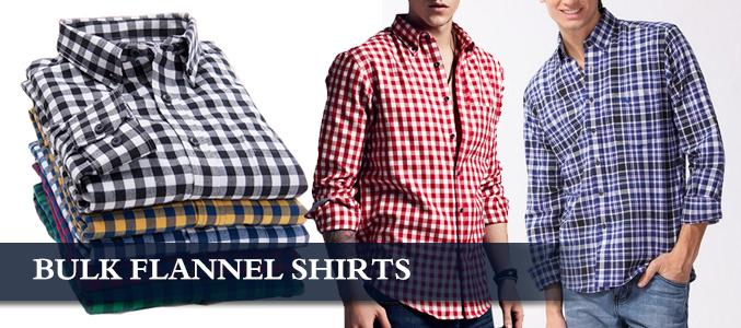 Flannel Shirts Bulk