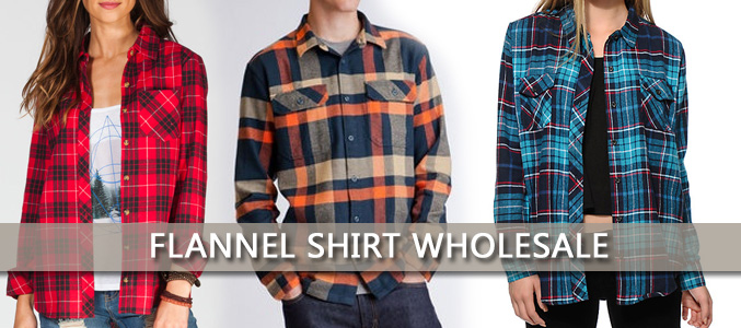 flannel shirts wholesale distributors