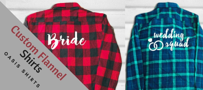 Customized Flannel Shirts