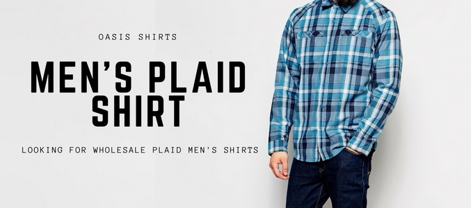 Watch Out for the Right Ways to Wear Men's Wholesale Plaid Shirts This Season