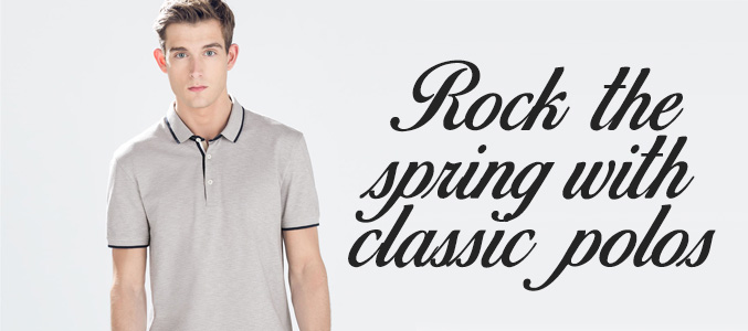 Get Ready to Rock the Classic Polo Shirts for spring 2018 With Modish Edge