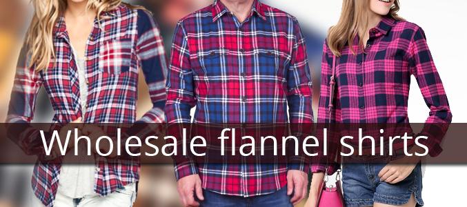 cheap bulk flannel shirts