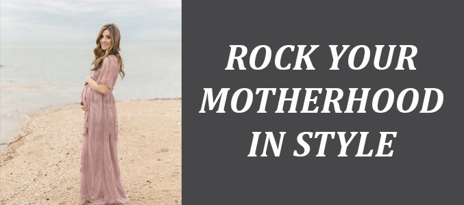 Rock The Maternity Style In Appealing Shirts, t-Shirts And Dresses, With Confidence