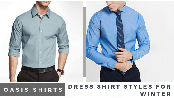 3 Dress Shirt Styles For Your Suit Occasions This Winter!