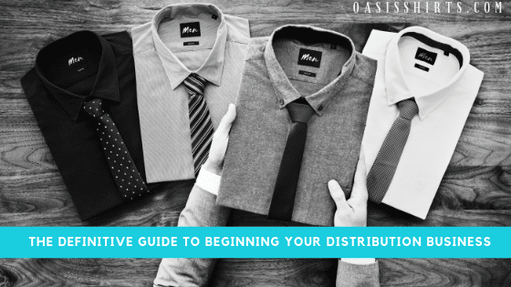 become a clothing distributor