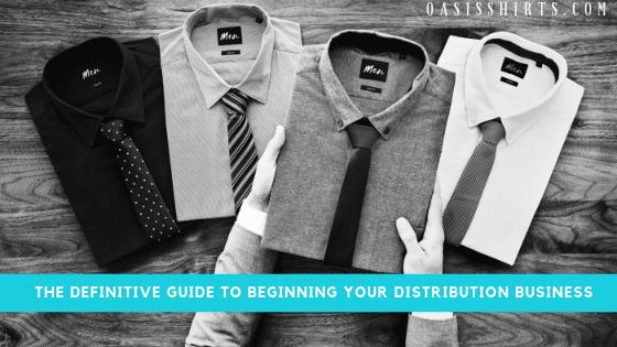 become a clothing distributor
