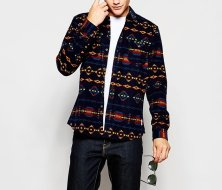 Wholesale Multihued Men's Tribal Jacket Manufacturer